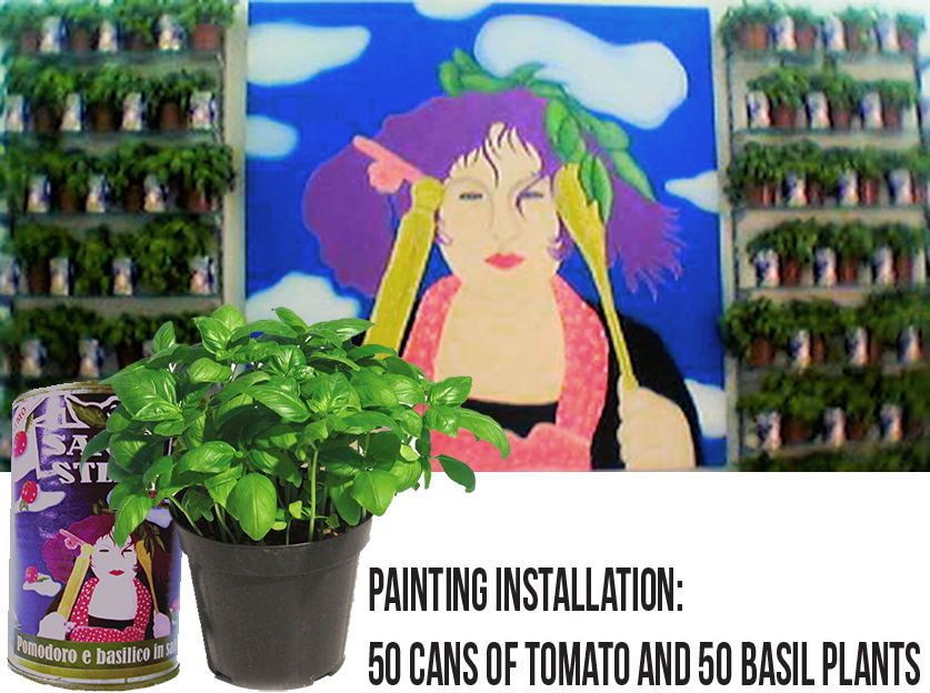 Basil Stephanie Installation 2003