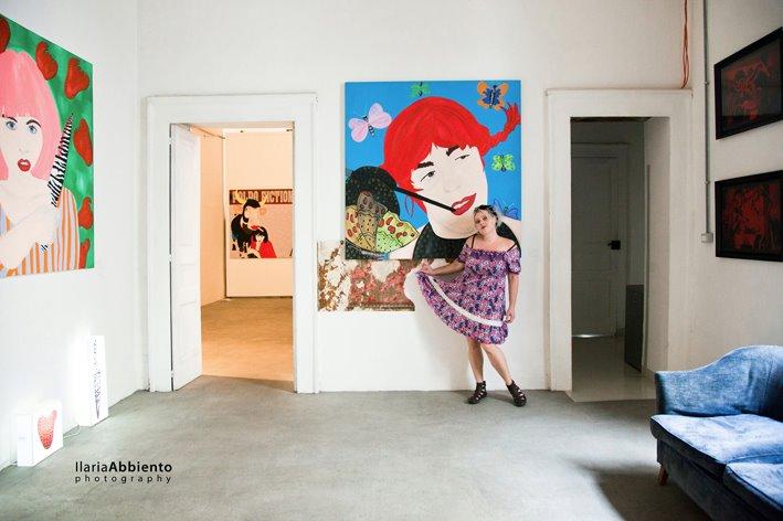 PrimoPiano gallery - Napoli photo by Ilaria Abbiento 2012
