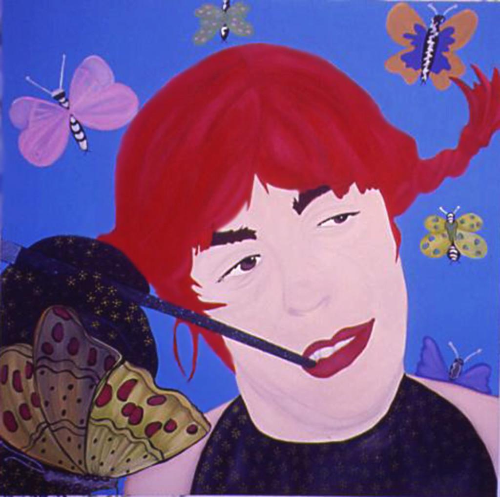 acrylic on canvas 150cm x 150cm 2001