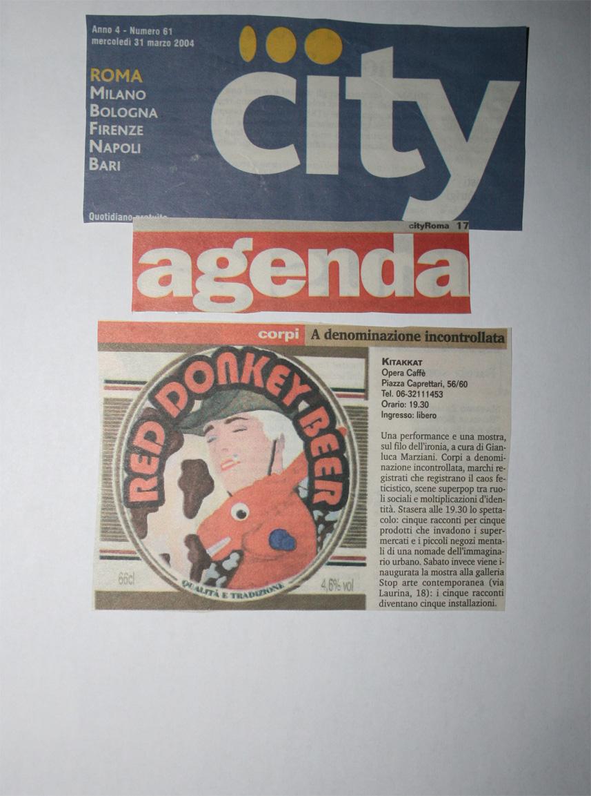 City Roma Kitakkat marzo, 2004