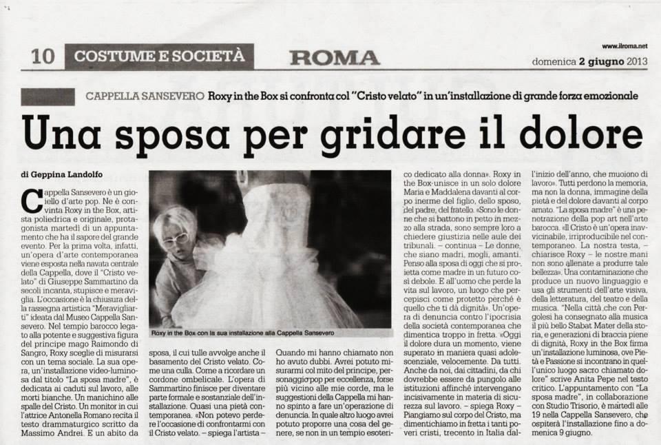 la sposa madre il roma