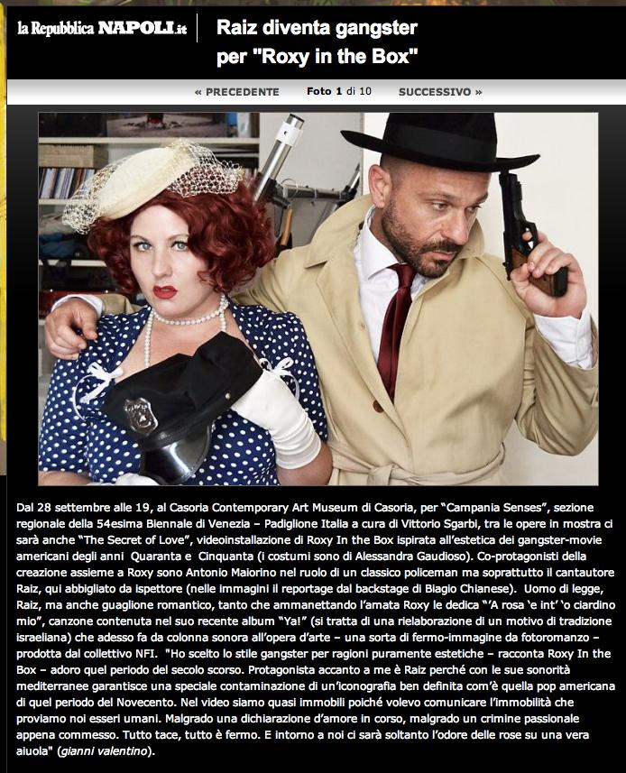 repubblica on line the secret of love 2011