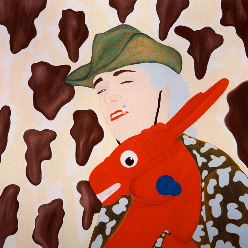 150cm x 150cm acrylic on canvas 2003