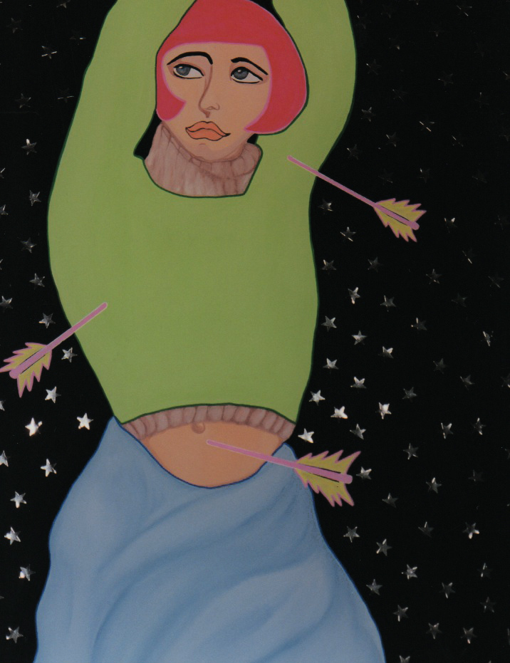 acrylic on canvas 1998
