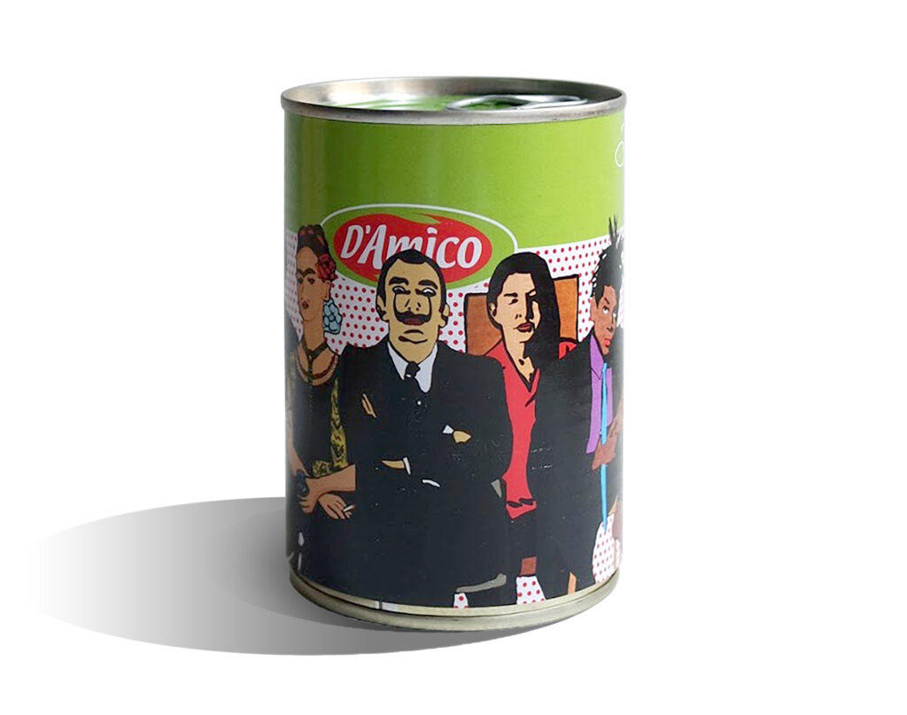 Artist's Gadget - D'Amico tin can