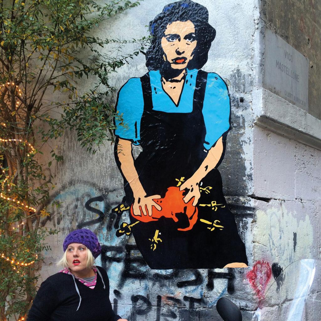Street Art - I sette Dolori - Roxy in the Box