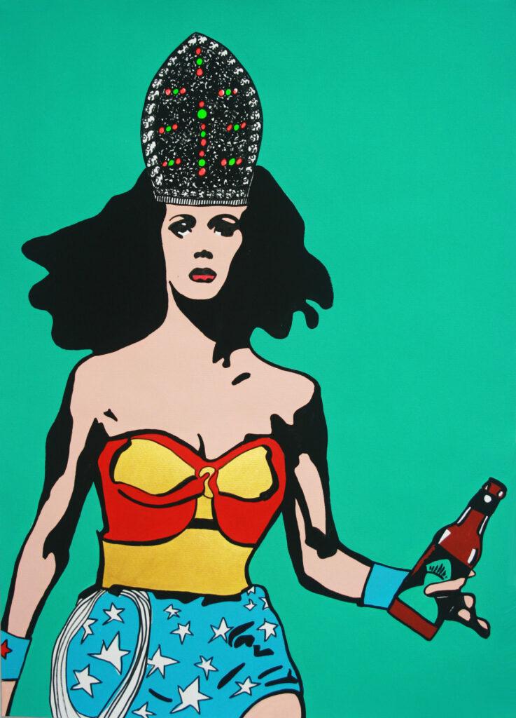 Wonder Woman per Kibirr - Roxy in the Box