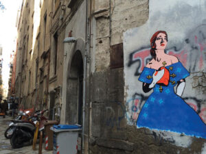 Street Art, I sette Dolori - Maria Callas
