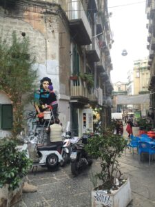 Street Art, I sette Dolori - Anna Magnani