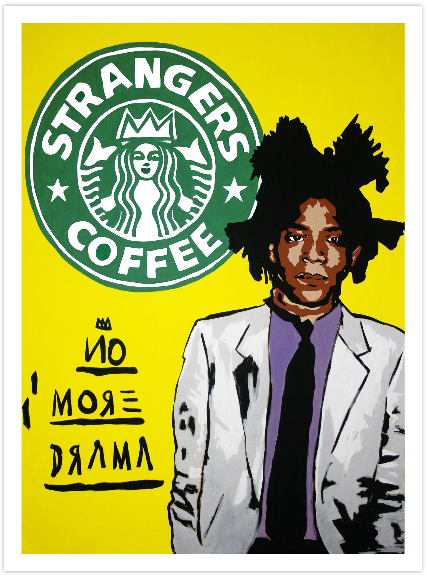 No More Drama (Jean-Michel Basquiat) 2018