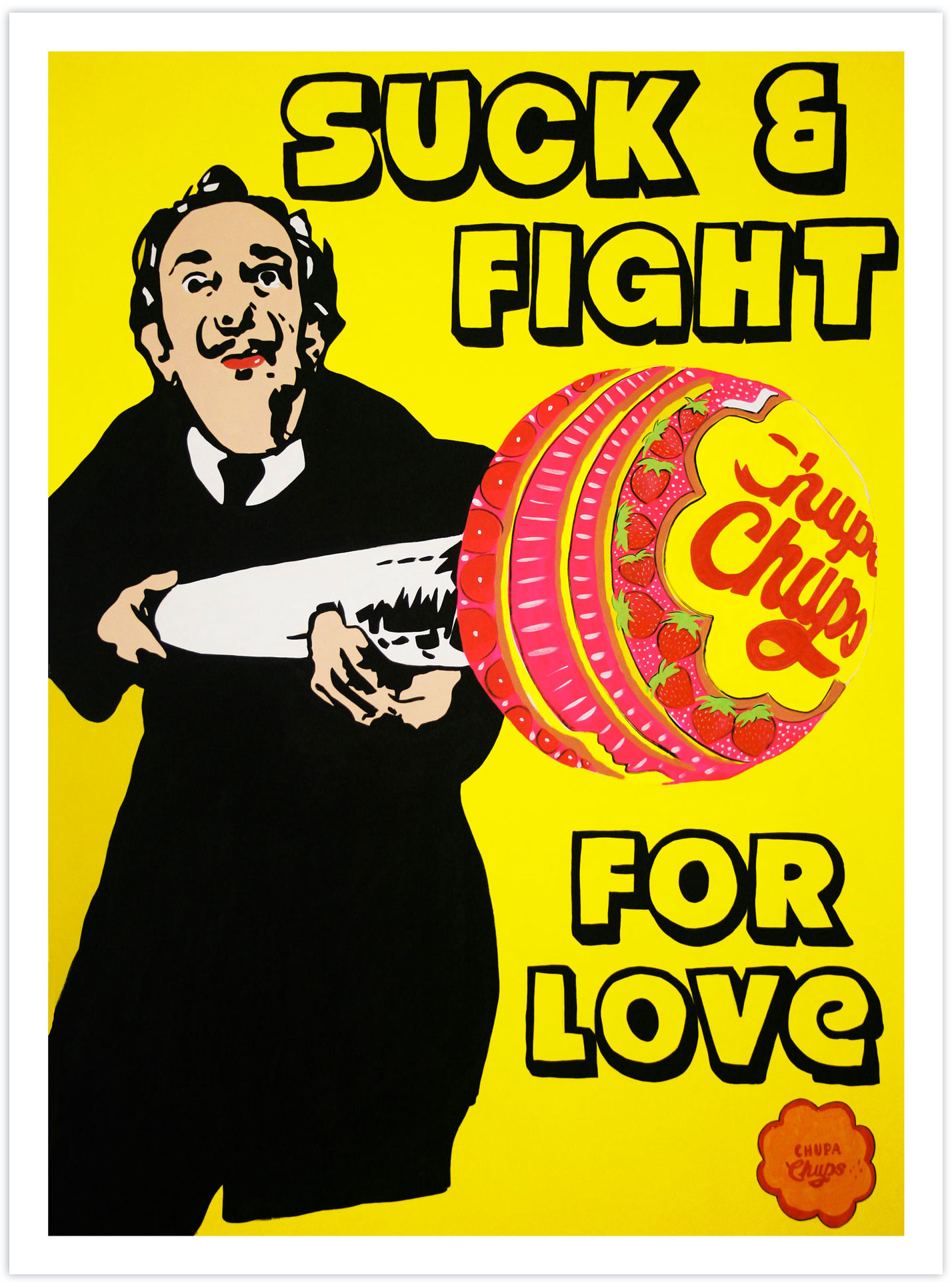 Suck & Fight For Love (Salvador Dalí) 2018
