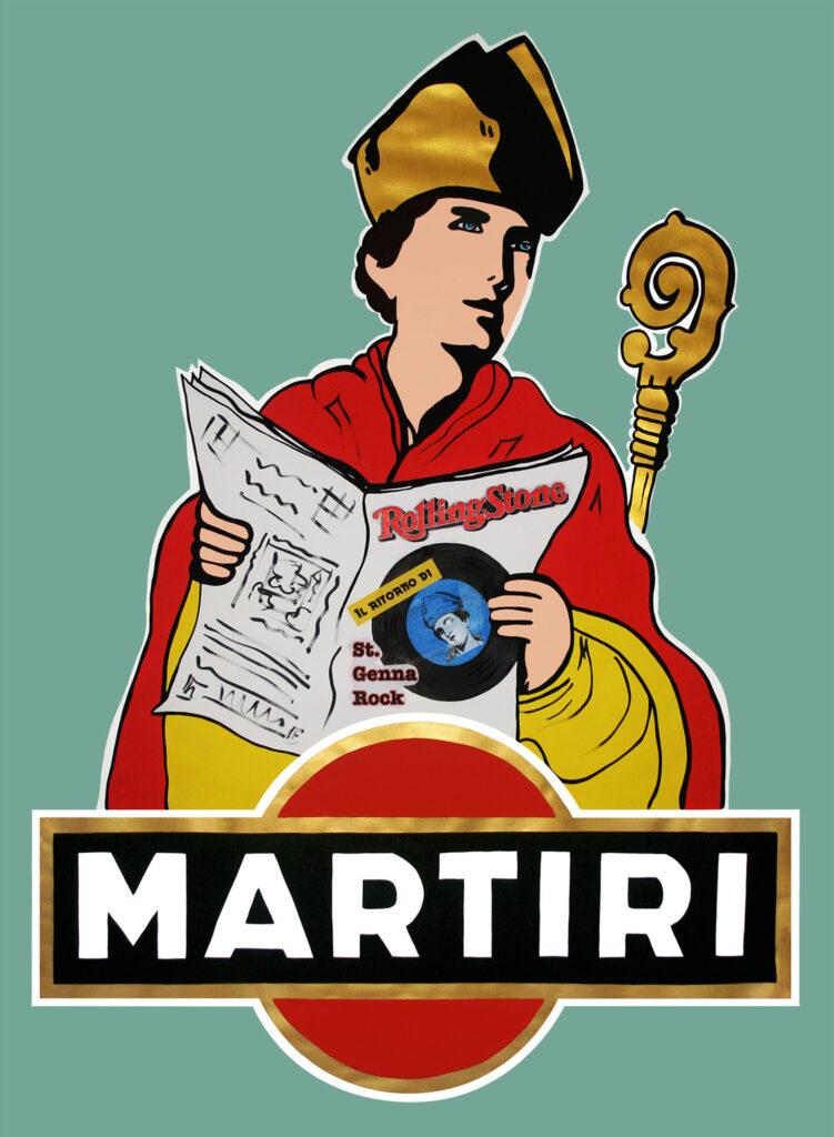 """""""Un Martire da Bere"""" St. GennaRock, The Rolling Stone edition - Roxy in the Box."""