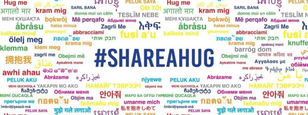 HUG ME IN ALL WORLD LANGUAGES