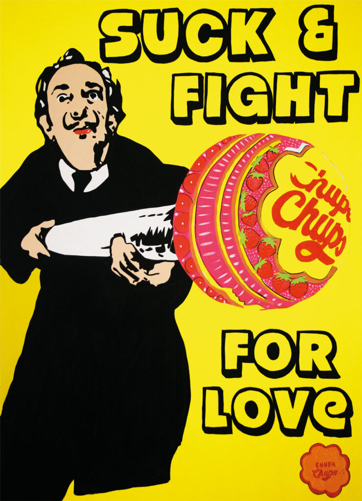 Suck & Fight For Love (Salvador Dalí) 2018