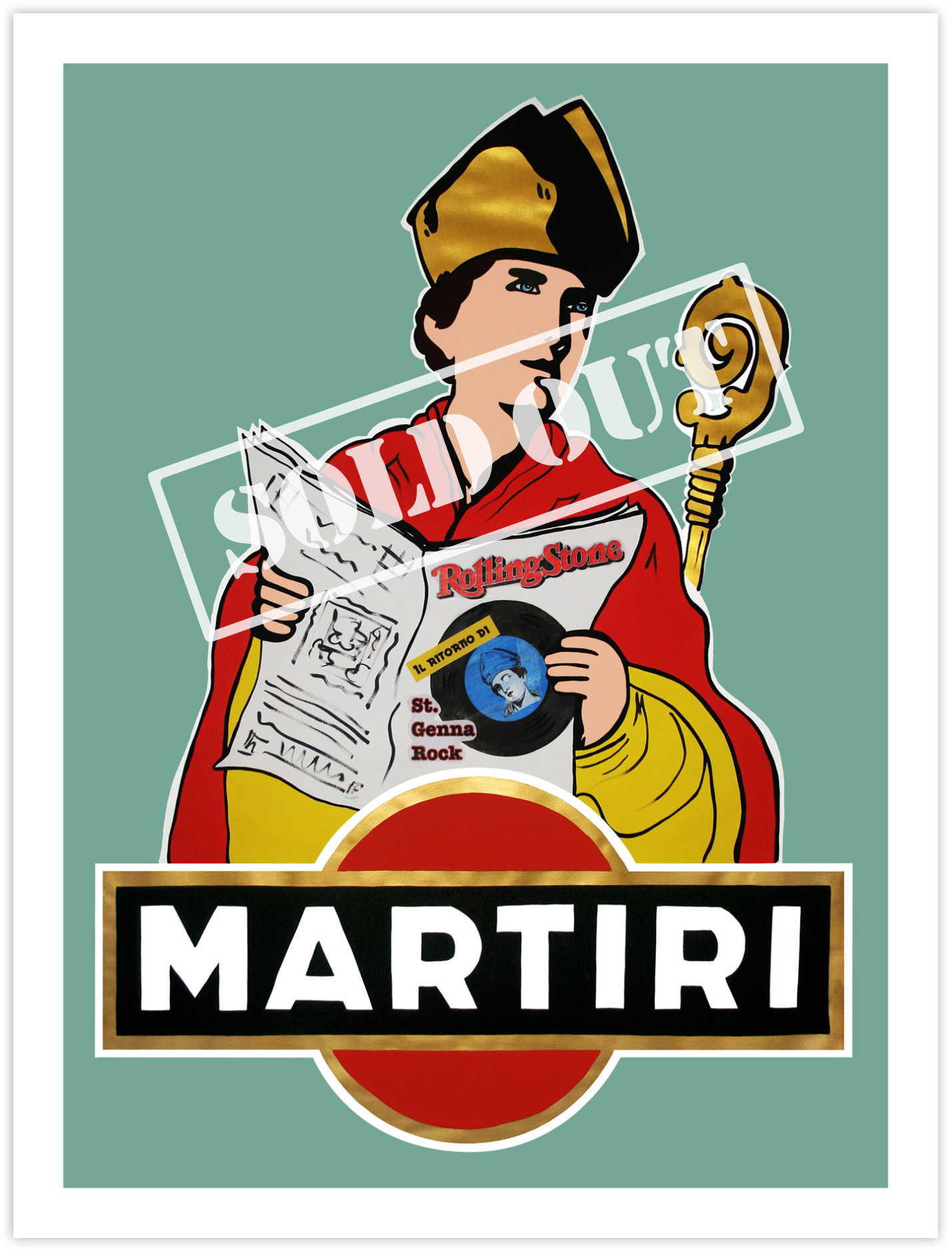 A Martyr to Drink - St. GennaRock (San Gennaro) 2020