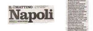 IL MATTINO (Napoli) - SETTE DONNE PER SETTE T-SHIRT