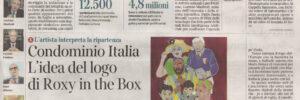 CASA CORRIERE - CONDOMINIO ITALIA L'IDEA DEL LOGO DI ROXY IN THE BOX