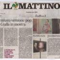 IL MATTINO - SAN GENNARO VERSIONE POP: FACCIA GIALLA IN MOSTRA (Roxy in the Box)