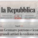 LA REPUBBLICA - SAN GENNARO PATRONO E ICONA I GRANDI ARTISTI LO VEDONO COSI (Roxy in the Box)